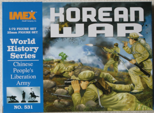 Imex 1/72 IM531 Chinese People's Liberation Army (Korean War)